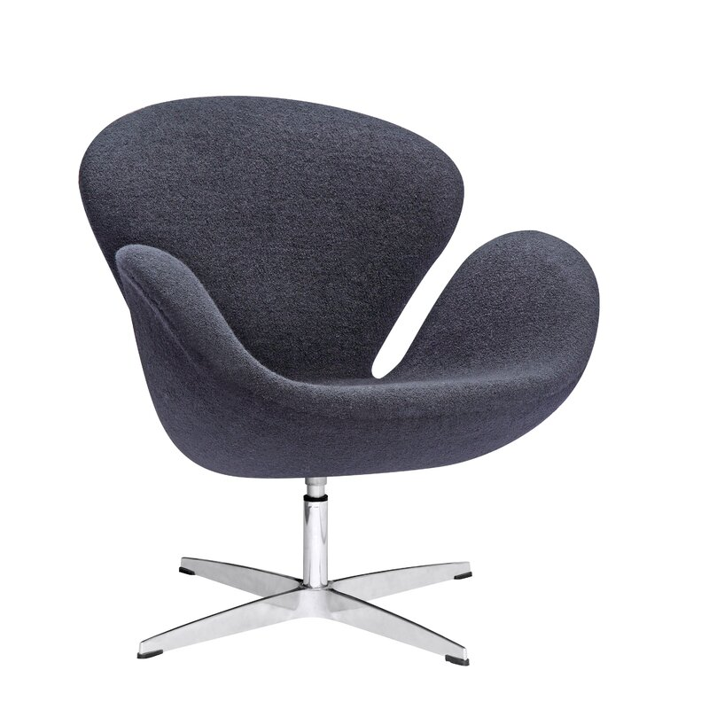 Swan Swivel Armchair