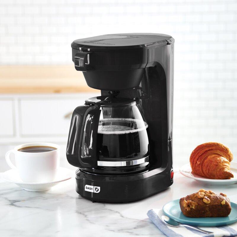 DASH  12-Cup Express Coffee Maker  Color: Black