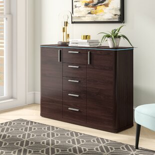 Viramontes 5 Drawer Combo Dresser