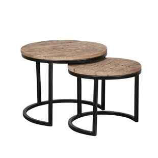 Edinger 2 Piece Nest Of Tables By Union Rustic