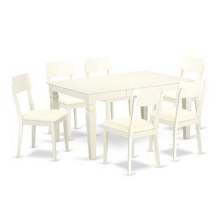 Belcourt 7 Piece Solid Wood Dining Set by..
