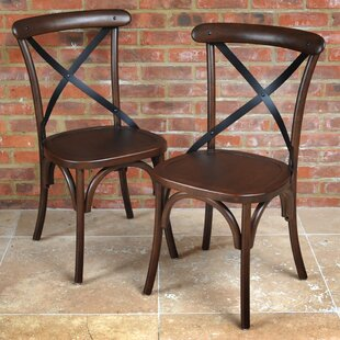 Celia Solid Wood Dining Chair Set (Set Of 2) By Ophelia & Co.