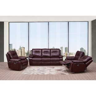 Low priced Douglas Forge Reclining  3 Piece Living Room Set by Red Barrel Studio Reviews (2019) & Buyer's Guide