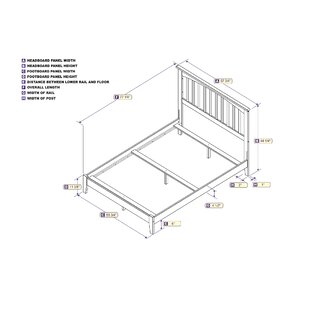 Abingt Panel Bed by Winston Porter