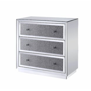 Latona 3 Drawer Accent Chest by Rosdorf Park