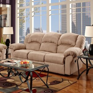 Aruba Dual Reclining Sofa by Roundhill Furniture