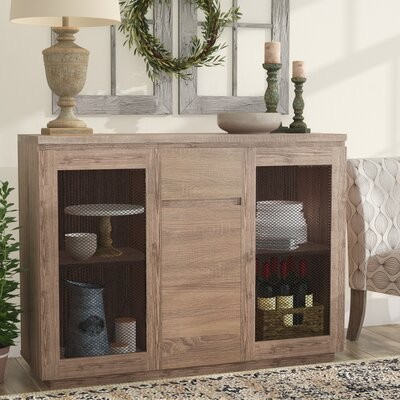 Abril Contemporary Buffet Table