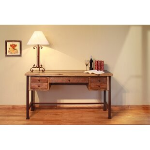 Read Reviews Stiltner Reclaim Wood Desk By Millwood Pines