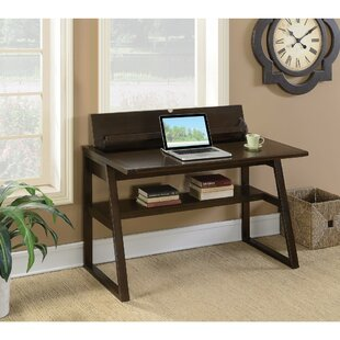 Winston Porter Keeton Wooden Desk with Flip-Top