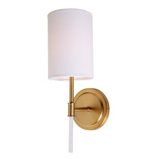 Ebern Designs Moller 1-Light Wallchiere