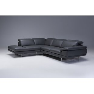Deontaye Left Hand Facing Chaise by Orren Ellis Coupon