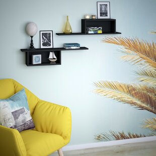 Rotte 2 Piece Floating Shelf Set By Symple Stuff