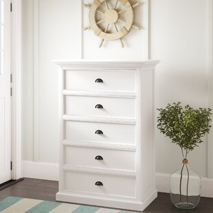 Gerold 5 Drawer Chest Of Drawers By Brambly Cottage