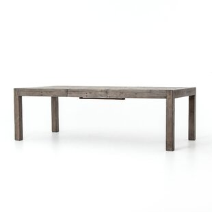 Glenna Extendable Solid Wood Dining Table Gracie Oaks