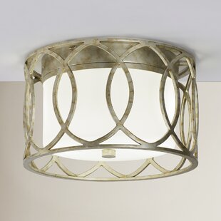 Brayden Studio Balducci 2-Light Flush Mount