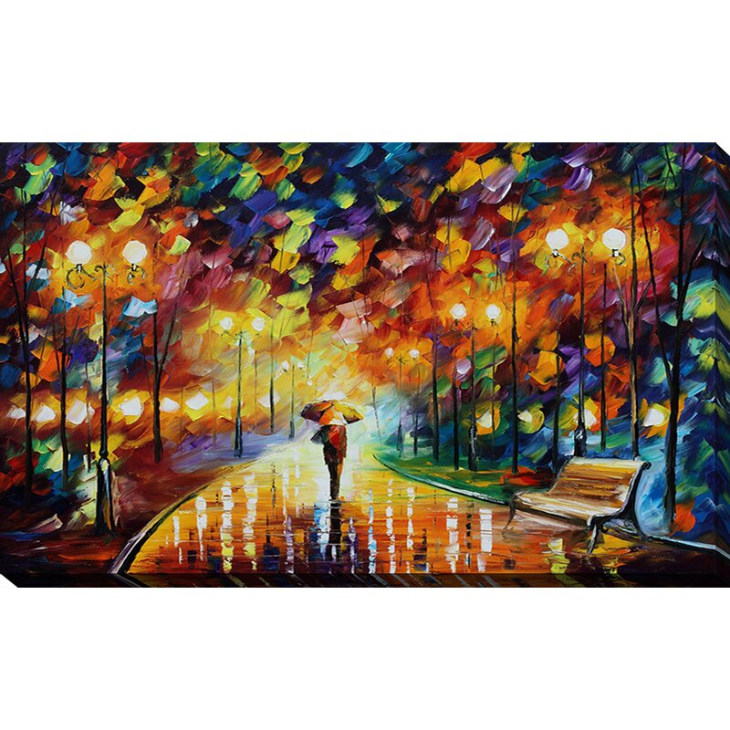 Pictureperfectinternational Reincarnation By Leonid Afremov Painting Print On Wrapped Canvas Wayfair
