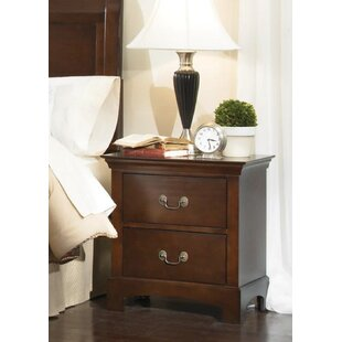 Marques 2 Drawer Nightstand