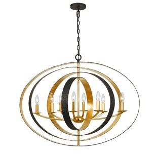 Corrigan Studio Mason 8-Light Globe Chandelier