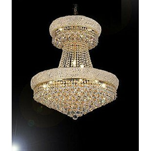 Rosdorf Park Vaughn 24-Light Chandelier