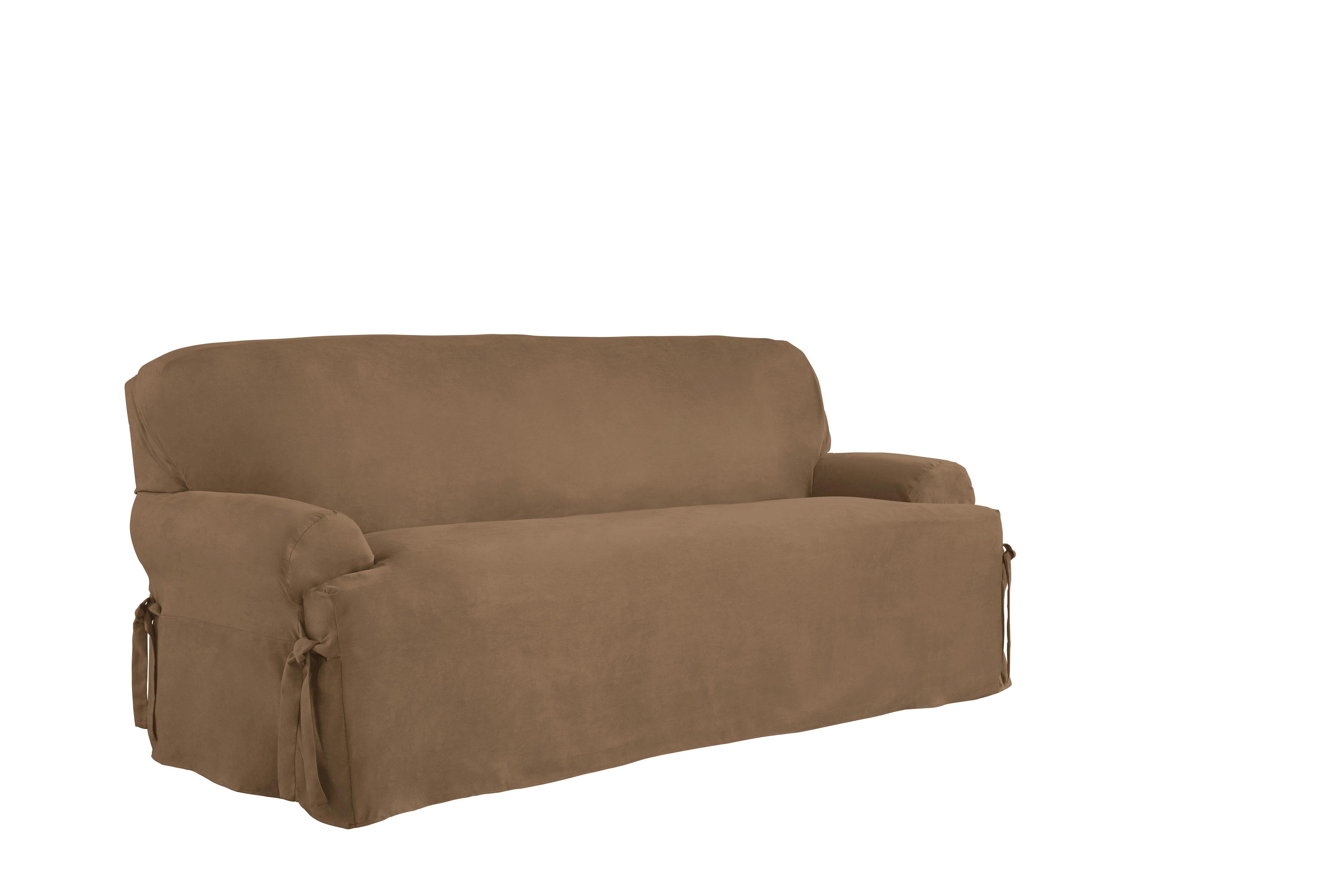 Bon Serta T Cushion Sofa Slipcover U0026 Reviews | Wayfair