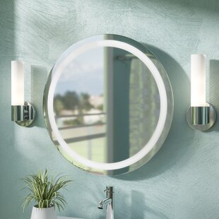 Affordable Tiemeyer LED Wall Mirror By Orren Ellis