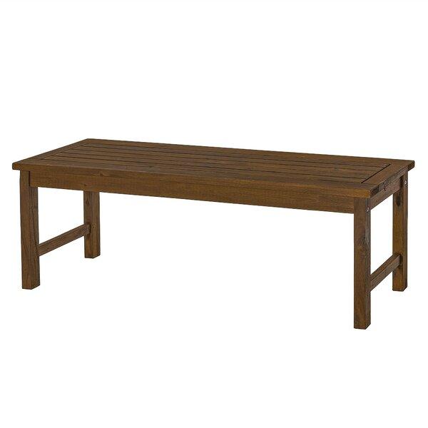 Terrific Modern Contemporary Indoor Wooden Benches Allmodern Machost Co Dining Chair Design Ideas Machostcouk