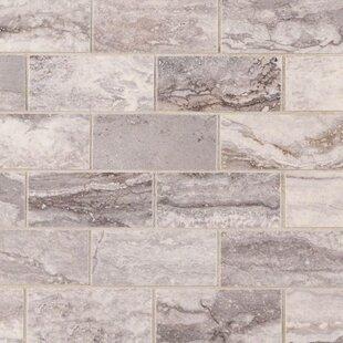 Faux Marble Subway Tile Wayfair - Faux limestone tile