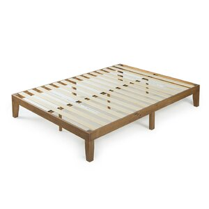 wood platform bed - Wood Platform Bed Frame Queen