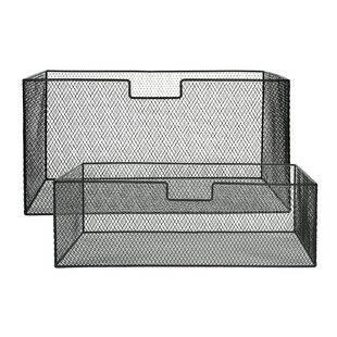 Bergin Desk Organisers (Set Of 2) By Williston Forge