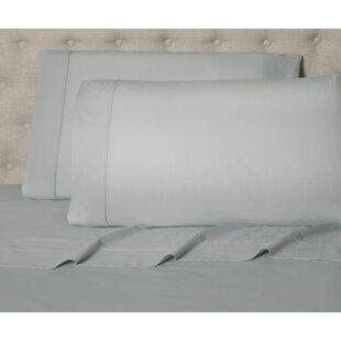 Bingen 144 Thread Count Solid Color 100% Cotton Percale Sheet Set