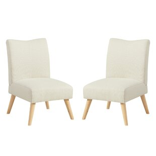George Oliver Waldrup Slipper Chair (Set of 2)