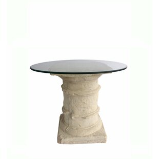 Elihu Glass Dining Table by Astoria Grand
