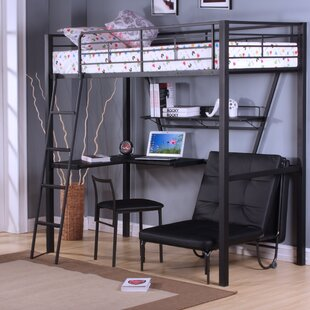 Adult Bunk Beds Desk Wayfair