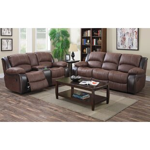 Ellefsen 3 Piece Reclining Living Room Set