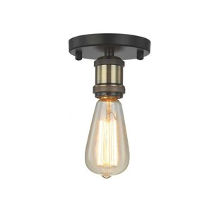 Meriwether 1-Light Semi Flush Mount by Williston Forge