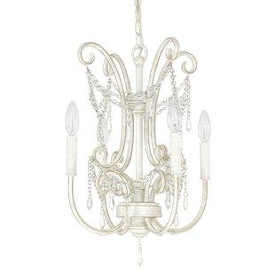 House of Hampton Fostoria 4-Light Candle ..