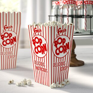 Popcorn Scoop Box (Set of 100)