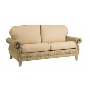 Woodard South Shore Loveseat and a Half with Cushions