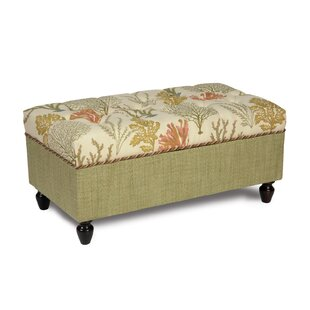 Caicos Storage Ottoman by Eastern Accents
