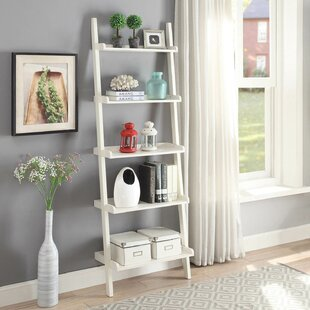 Modern Street Wall Ladder Bookcase Ebern Designs