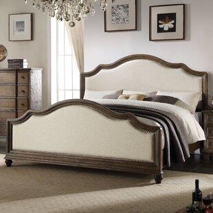 Burgan Upholstered Standard Bed