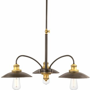 Williston Forge Jalisa 3-Light Shaded Chandelier