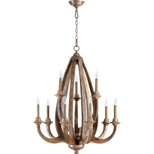 Gracie Oaks Whitacre 9-Light Chandelier