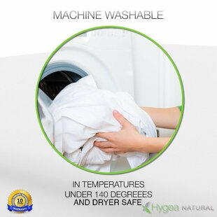 Hygea Natural Waterproof Mattress Cover