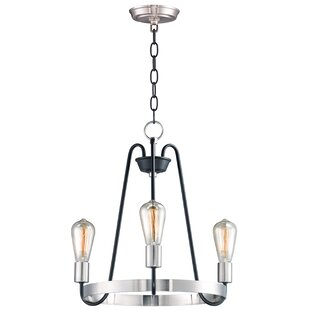 Williston Forge Hafford 3-Light Candle Style Chandelier