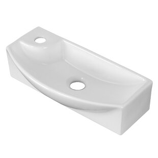 Online Reviews Ceramic Rectangular Vessel Bathroom Sink By Royal Purple Bath Kitchen