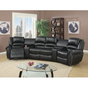 Breese 5 Piece Reclining Sectional by Red..