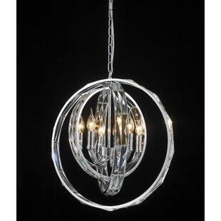 Mercer41 Brownesville 6-Light Globe Chandelier
