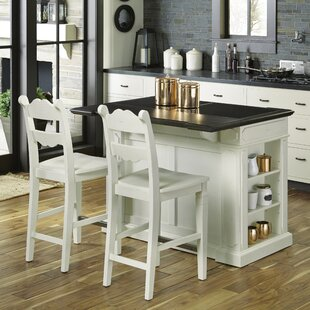 Wisconsin Kitchen Island Set August Grove