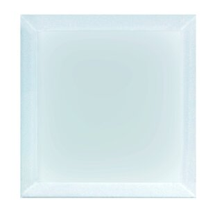Frosted Elegance 8 x 8 Glass Field Tile in Matte Blue by Abolos